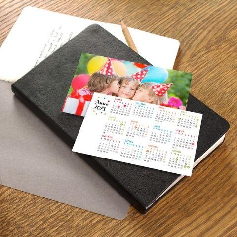 Calendari tascabili 8,5x5,5 cm